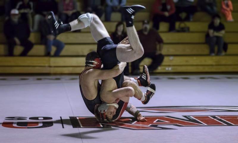 SOU wrestling brock gutches simpson brady beamon