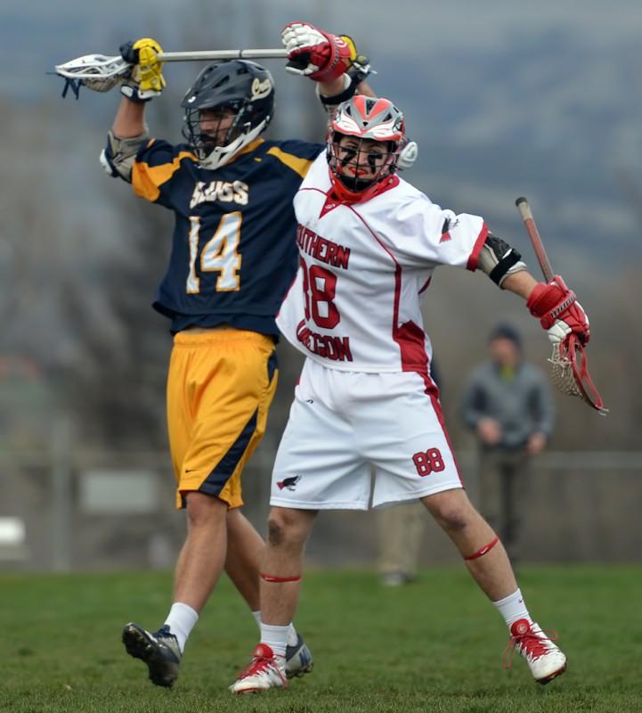 Southern Oregon Men's Lacrosse Casey Liebler