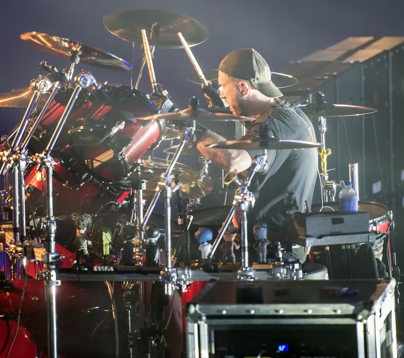 Volbeat Medford Armory Jon Larsen