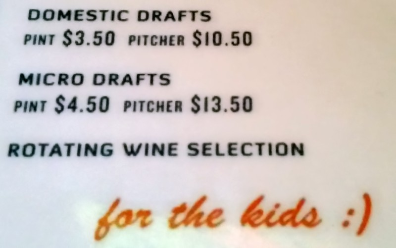 northwest pizza wine selection for the kids