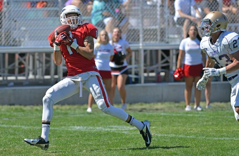 SOU football Dylan Young