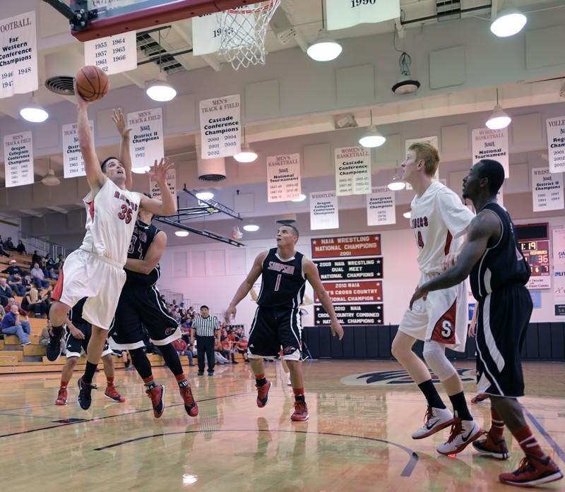 SOU basketball Eric Thompson