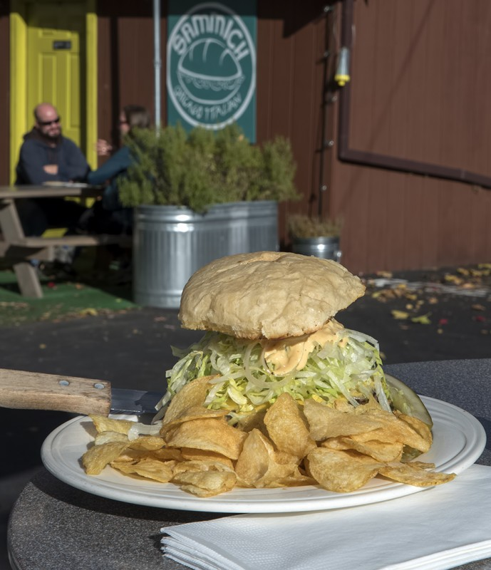 sammich ashland the burg burger