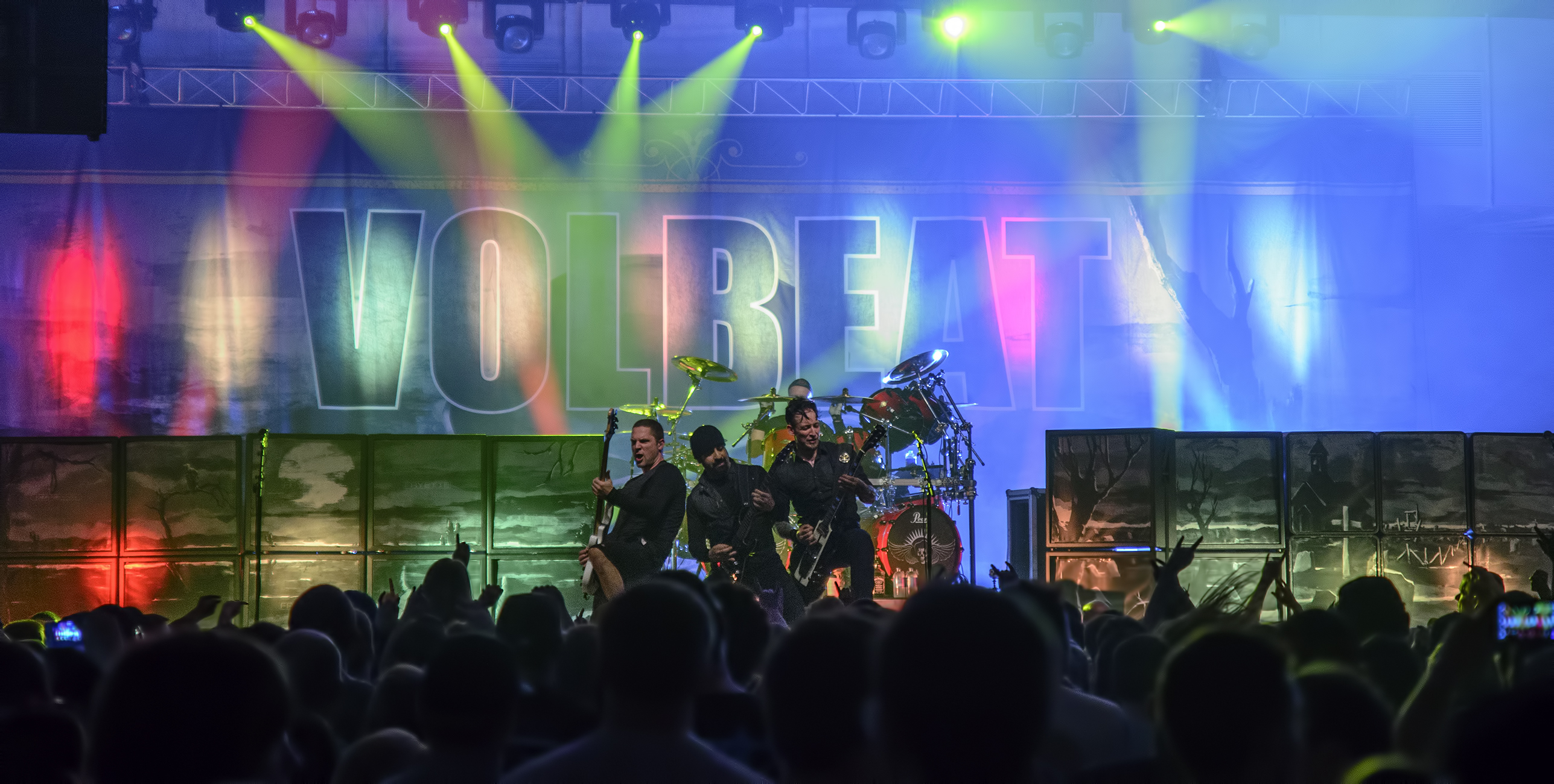 volbeat medford armory