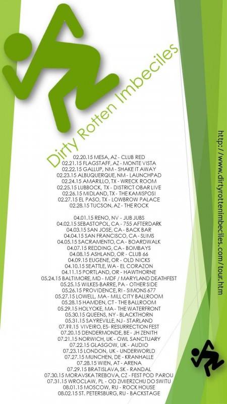 DRI 2015 tour