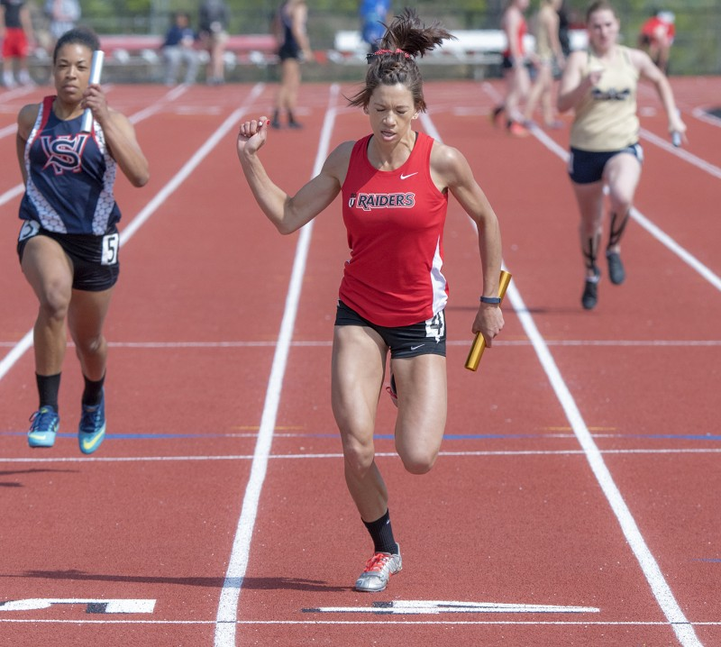 SOU track and field Amelia Maguin