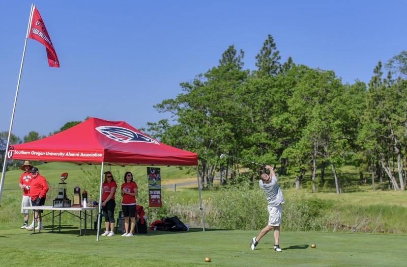 SOU raider red zone golf shootout