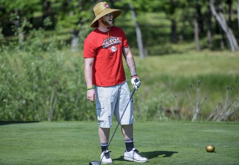 SOU raider red zone golf shootout Jarrod Moroni