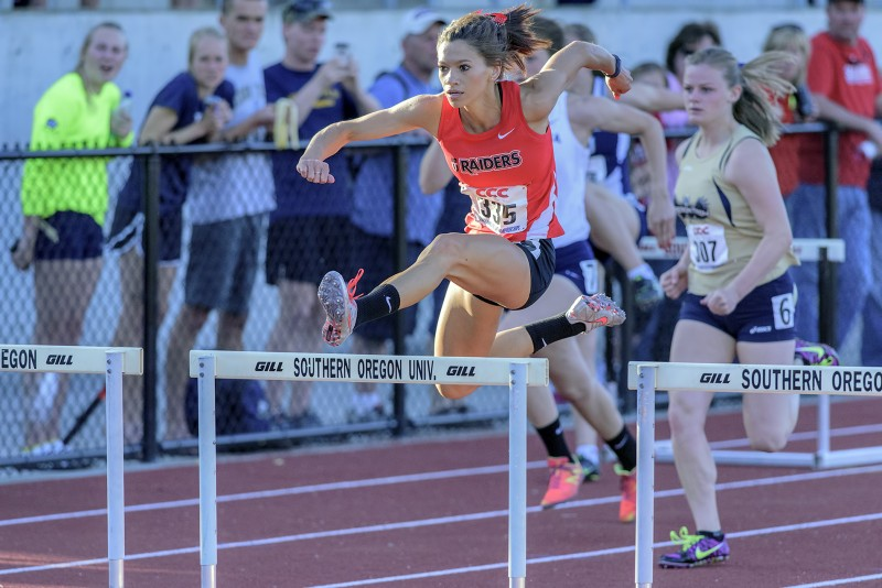CCC track and field Amelia Maguin