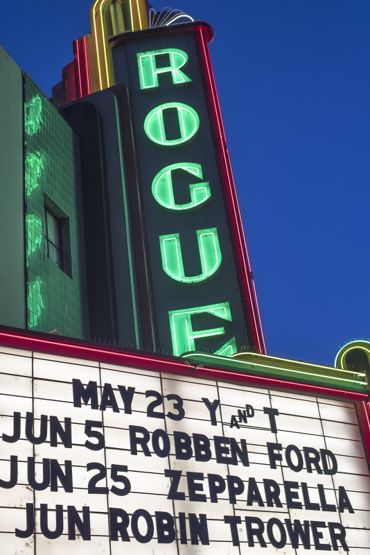 155_9228 RAW rogue theatre grants pass marquee y and t zepparella robben ford robin trower