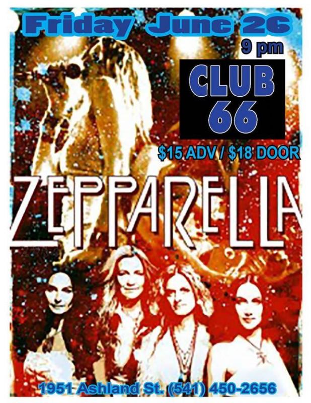 Zepparella @ Club 66 (6/26/15)