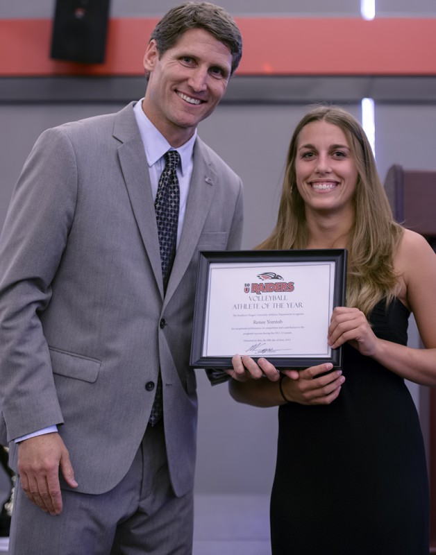 matt sayre renee yomtob volleyball awards