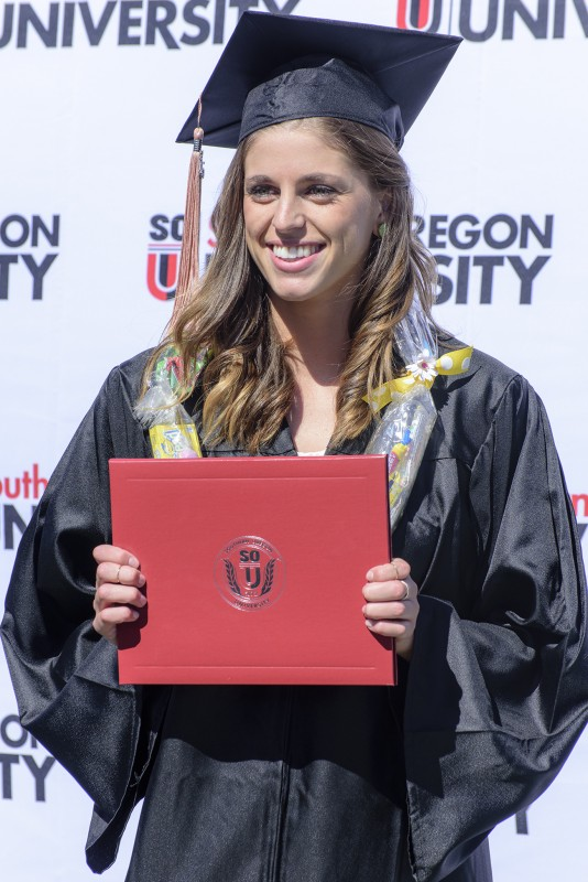 2015 sou commencement brenna anderson