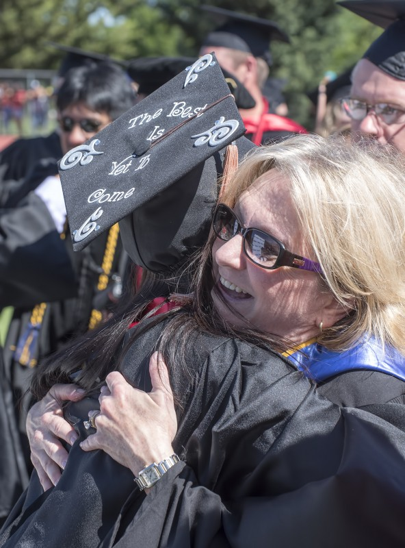 2015 sou commencement susan cain brittany mccarroll