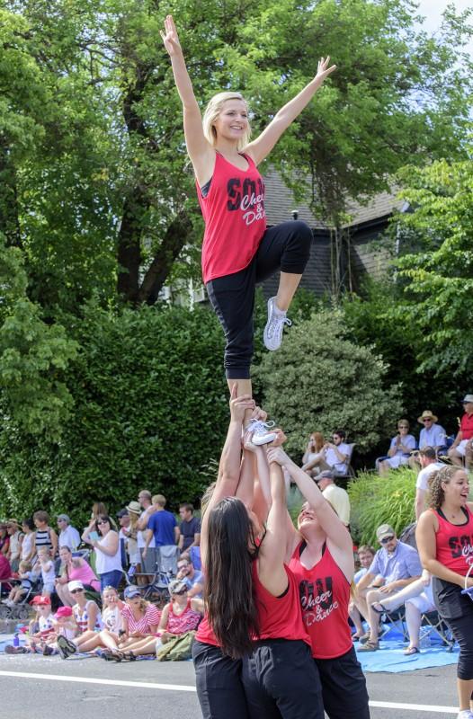 ashland 4th of july parade sou dance cheer