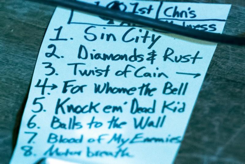 Rogue to Ruin Club 66 setlist