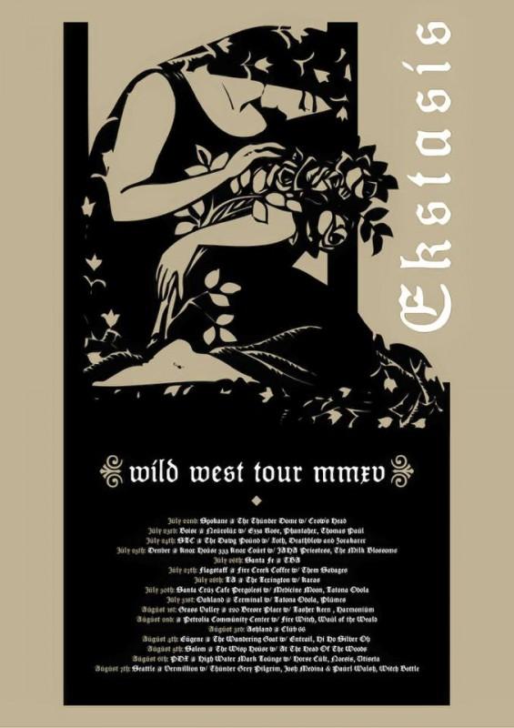 Ekstasis tour 2015