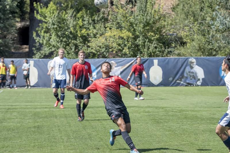 SOU Men's Soccer Ahmon Afenegus