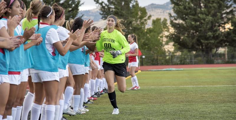 SOU women's soccer Kylie Moltzen