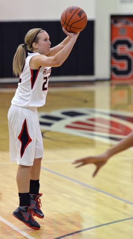 SOU Women's Basketball Majerle Reeves