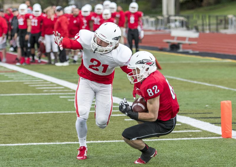 sou football red white game keegan lawrence chase cole