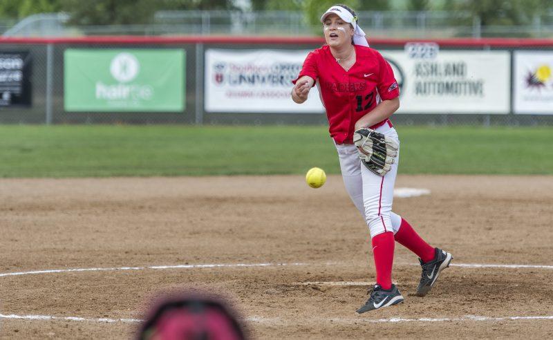 sou softball Victoria Mackey