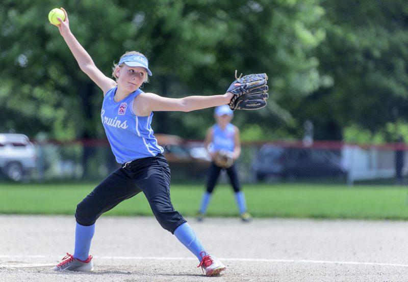 Ashland Little League softball gabby heiken