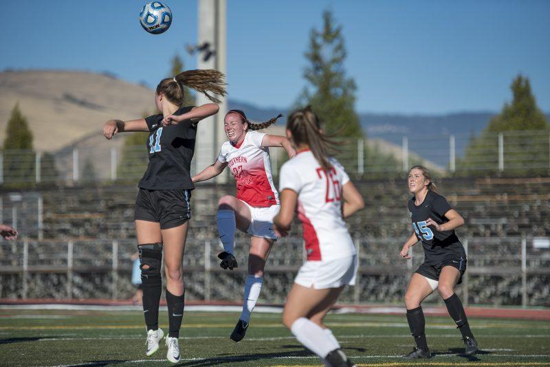 SOU women's soccer allyson ward