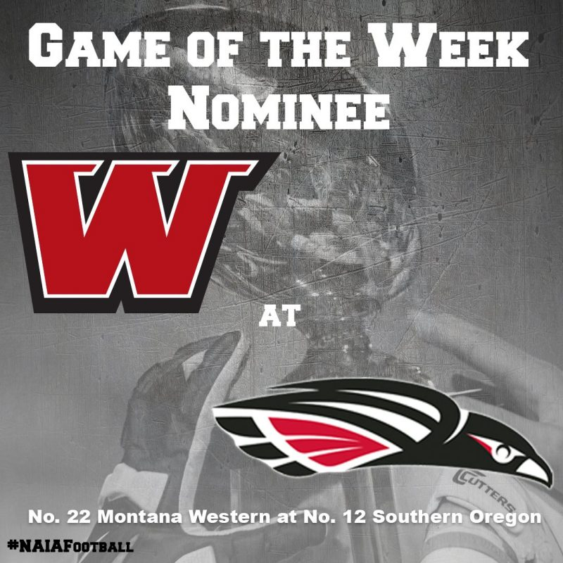 """Click on this image and then """"like"""" to have the Raiders home opener be the NAIA game of the week."""