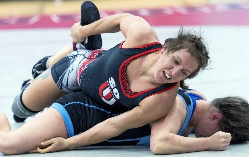sou womens wrestling Kal Holliday