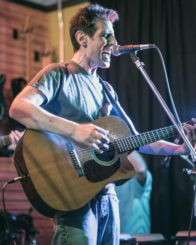 Bret Levick LEFT hilltop music shop