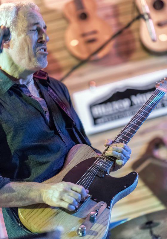 Jeff Pevar hilltop music shop