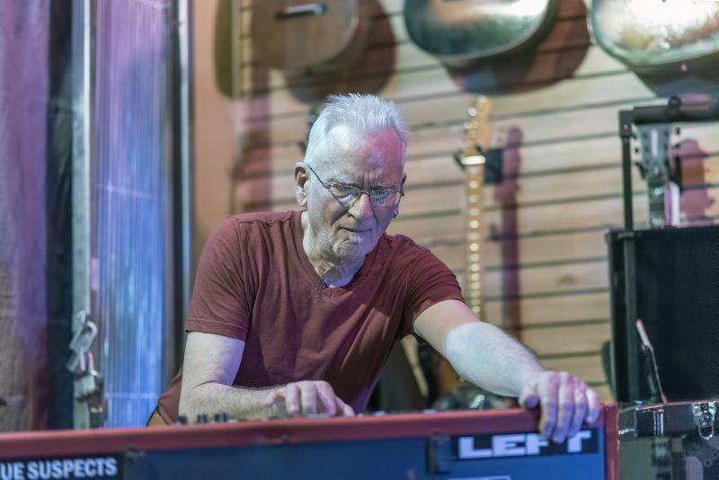don harris pat travers band LEFT hilltop music shop