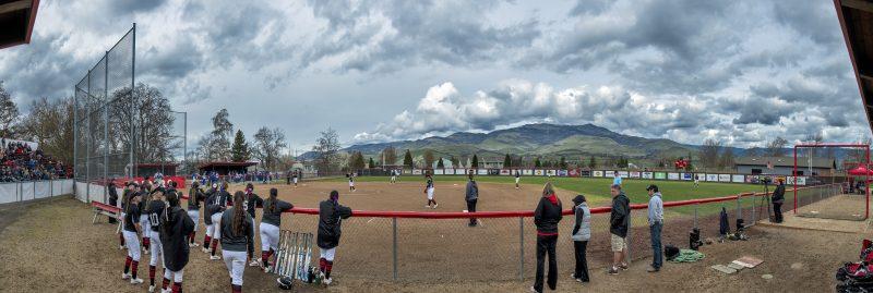 10-photo photomerge sou softball Southern Oregon Softball Named CCC Team of the Week
