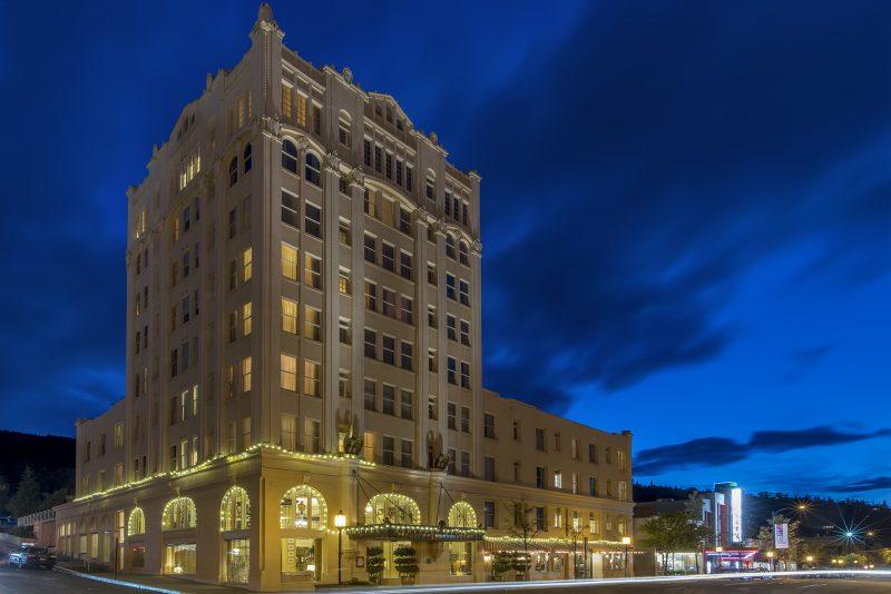 ashland springs hotel blue hour