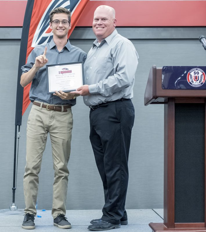 2017 black and red all-sports awards connor cushman