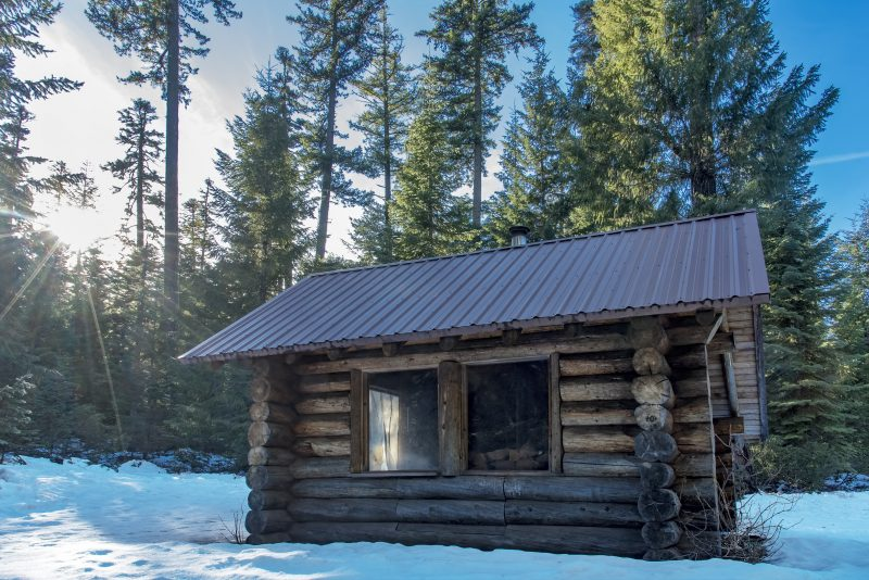south brown mountain shelter