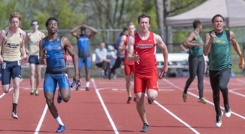 SOU track and field Hayden Saparto