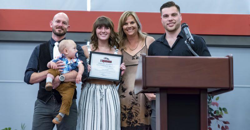2018 sou athletics awards Sarah Garoutte armando gauger kristy johnson