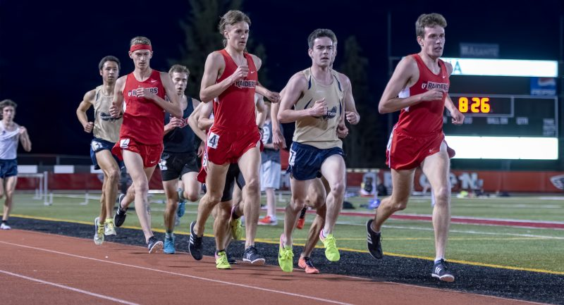 sou track and field Schireman Ray Kevin Poteracke Noah Oberriter