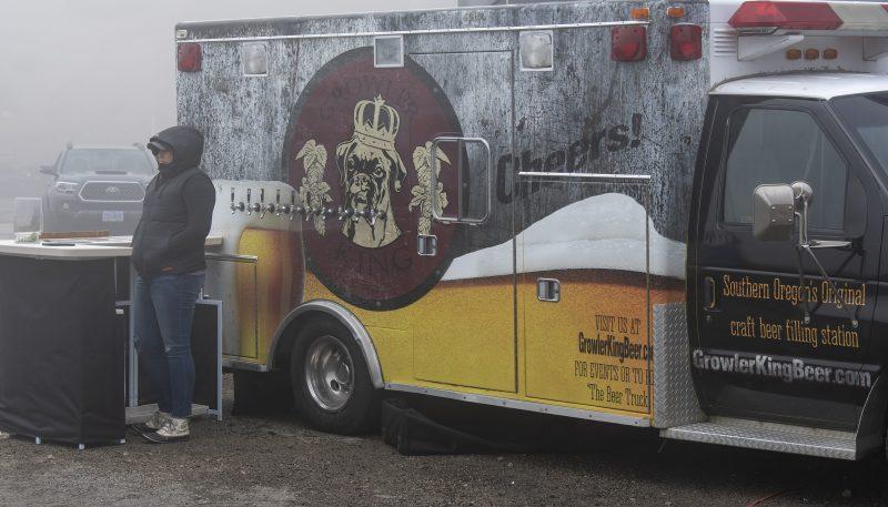 mount ashland 5k growler king mobile beer truck rogue valley