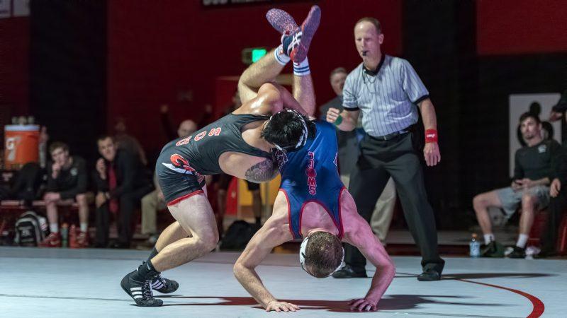 sou mens wrestling Micah Arakawa