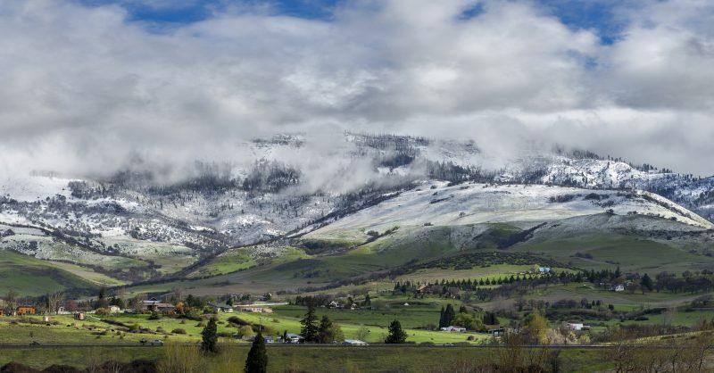 ashland grizzly peak spring snow