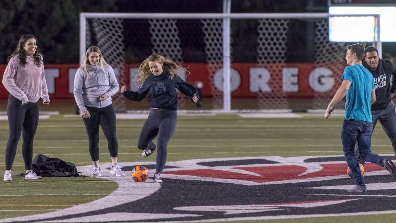sou womens soccer halftime myla norvell volleyball