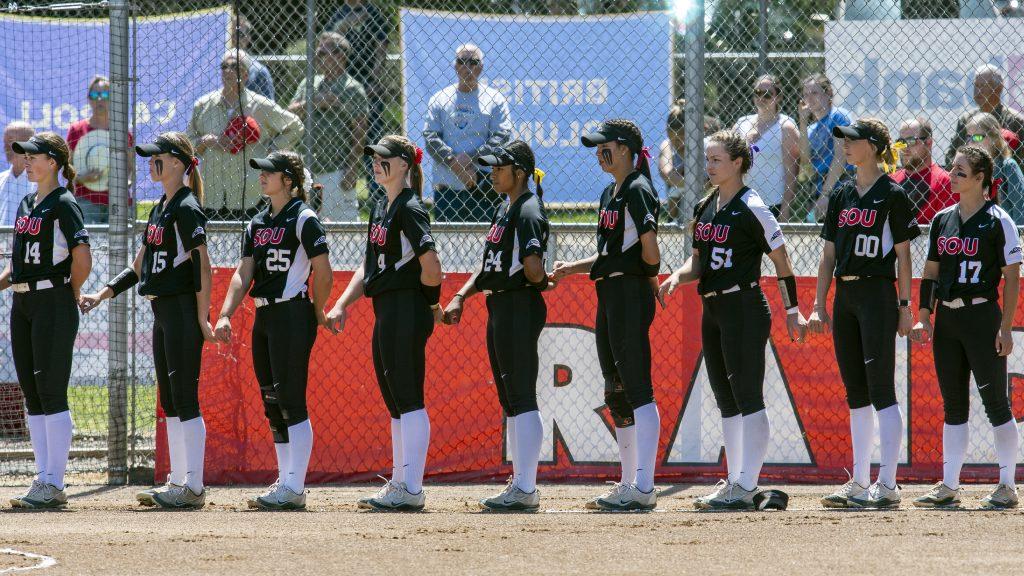 sou softball lineup