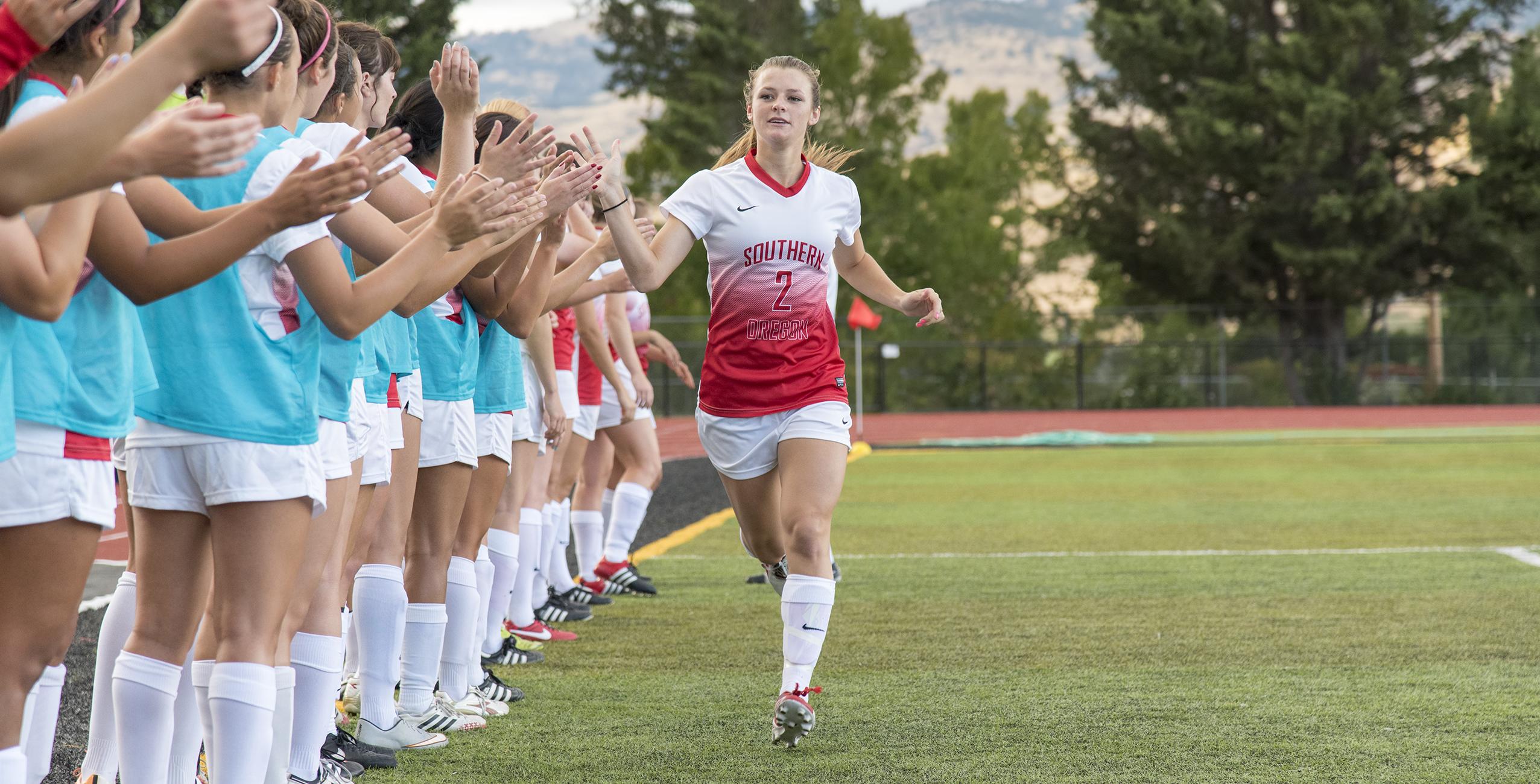 SOU women's soccer Kelsey Randall