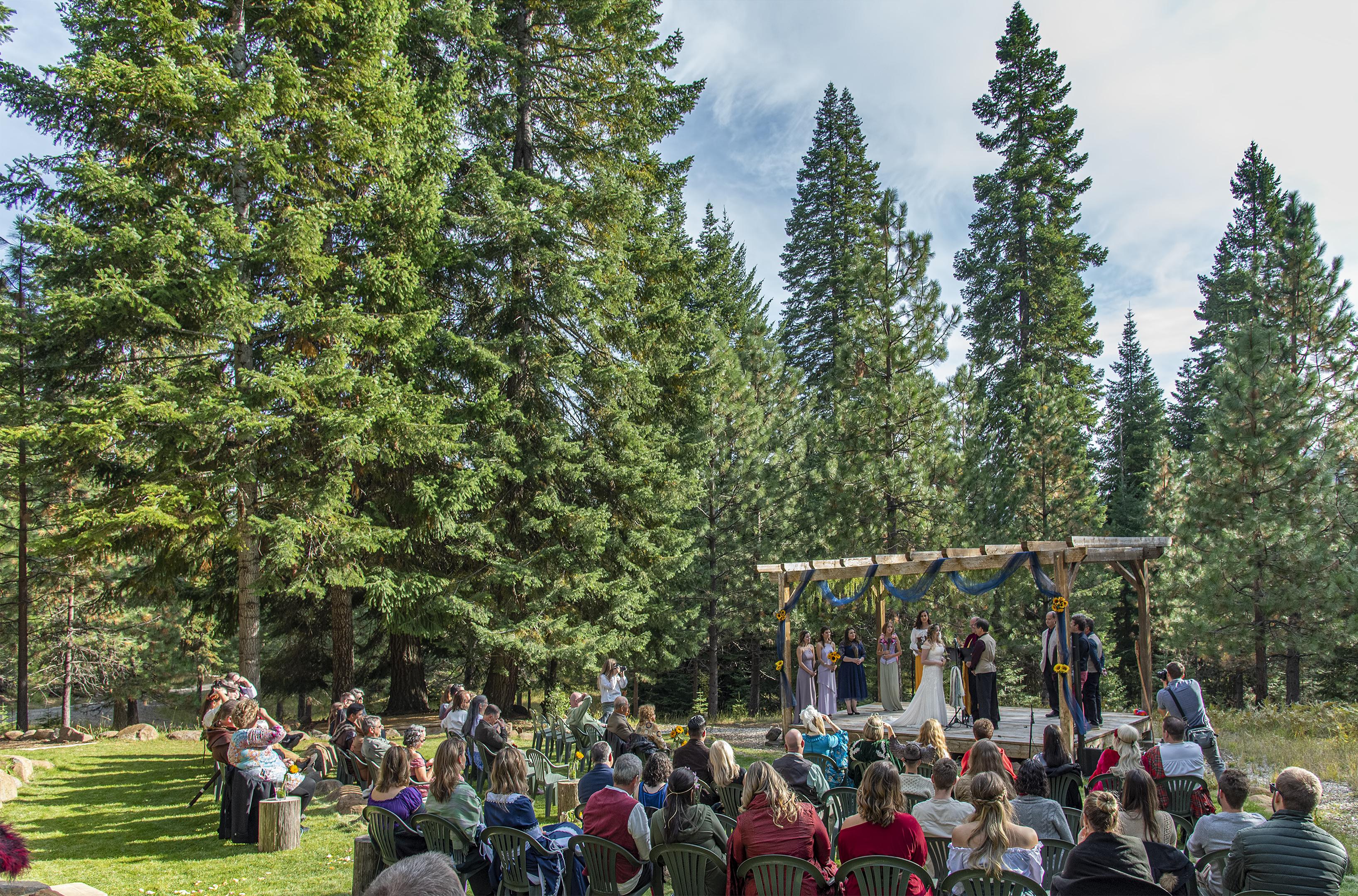george erin wedding
