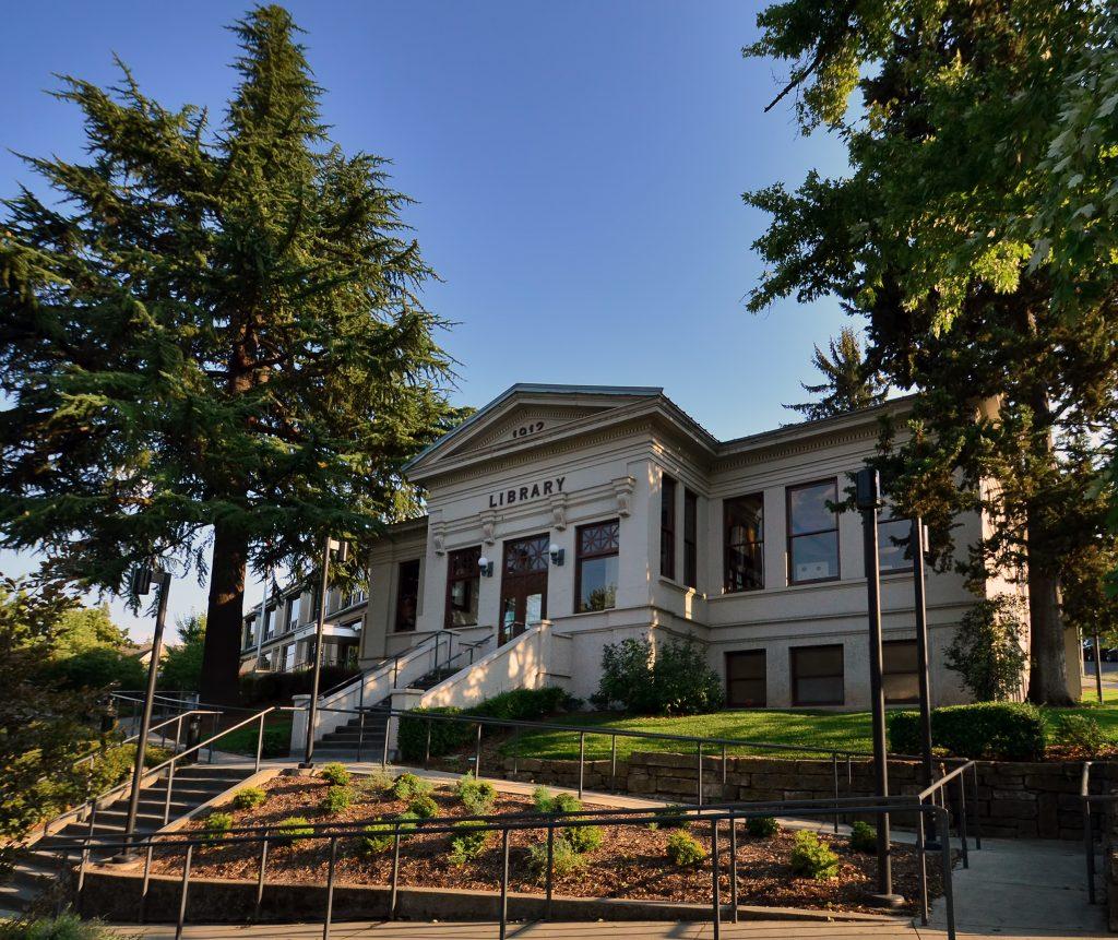 Ashland Branch Library jackson county library services gresham oregon