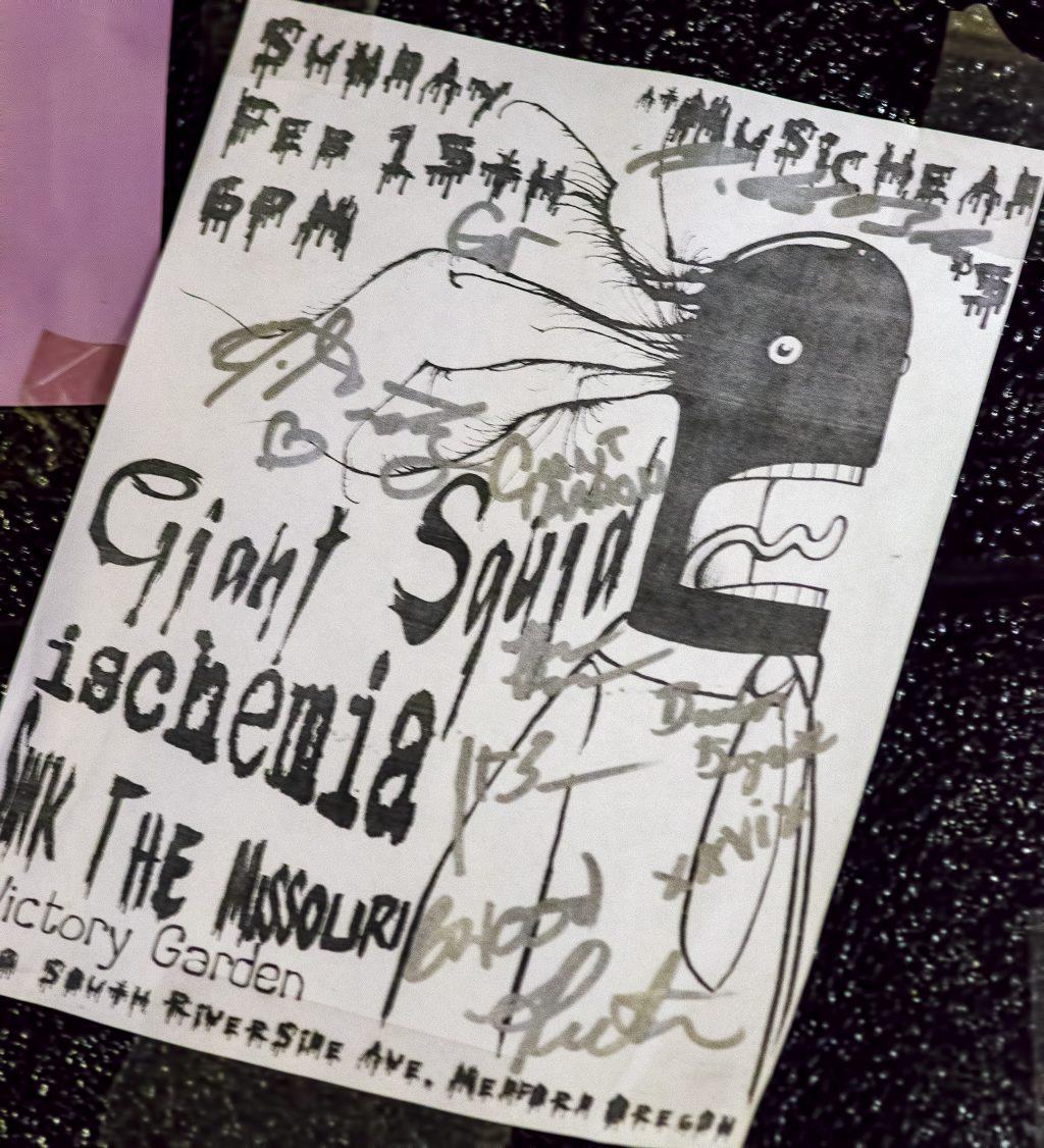 giant squid poster musichead ischemia sink the missouri