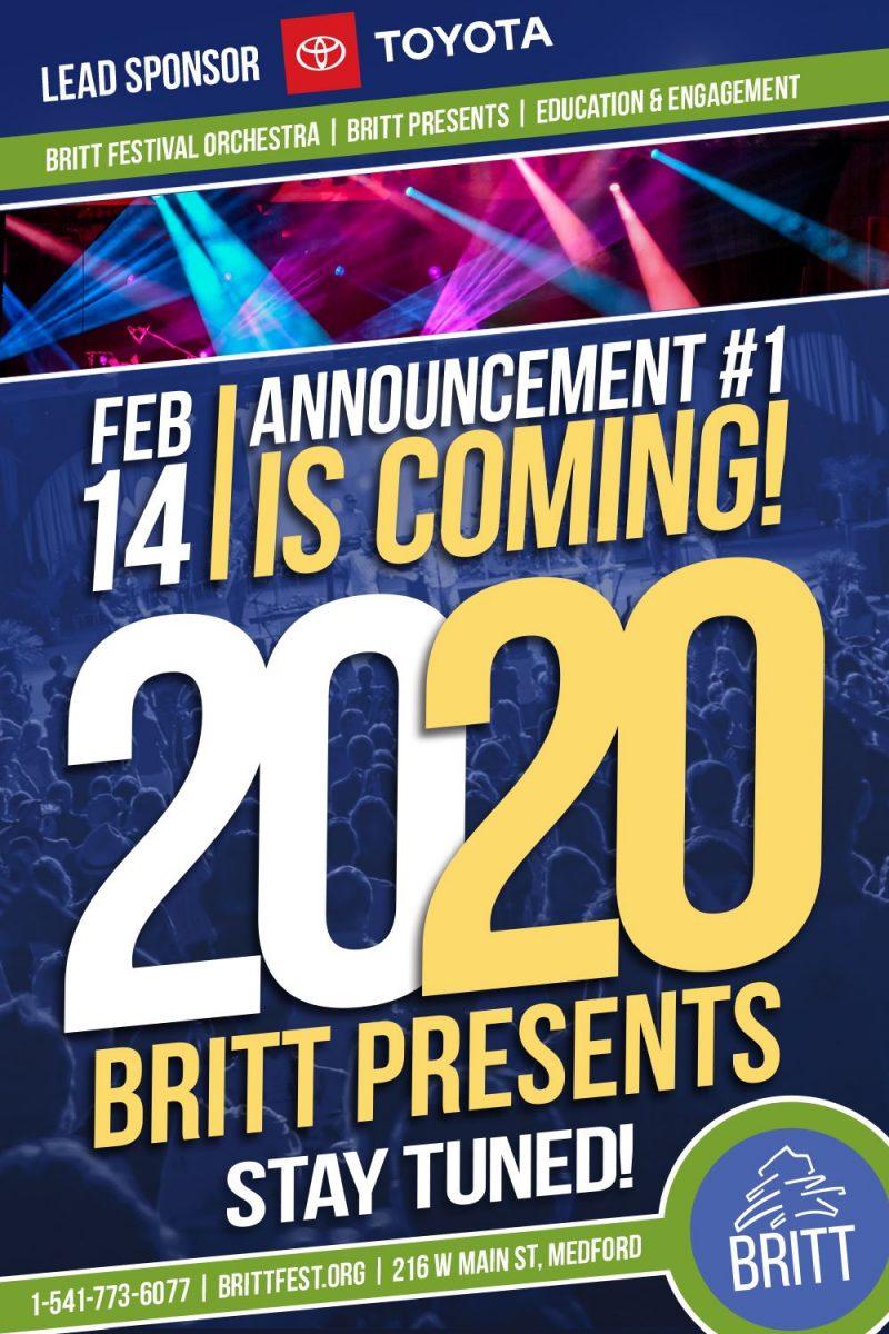 2020 britt festivals festival schedule bands lineup